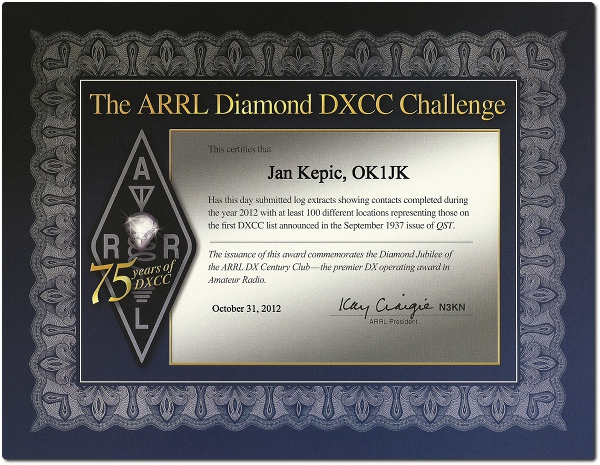 ok1jk-award-dxcc-diamond